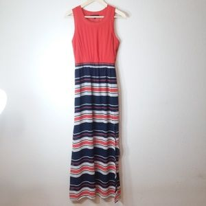 🛍Stripped Maxi Dress Small